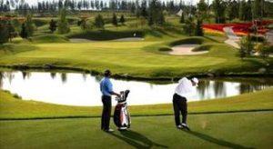 Golf water hazard