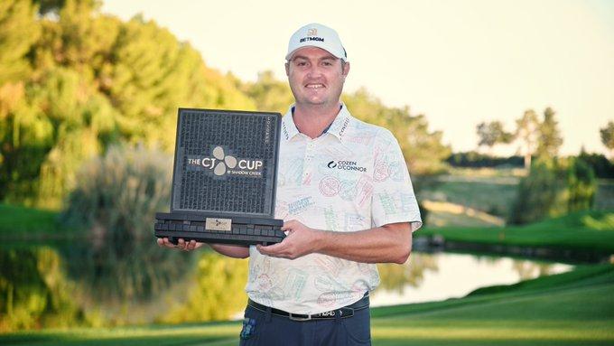 PGA Tour: CJ Cup, results.  Jason Cocrack's first title