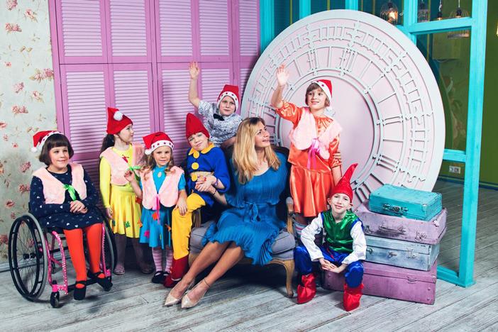 "Sofia Anokhina: Charitable Foundation ""Overcome-ka"" – a symphony of children's hearts that knows no boundaries"