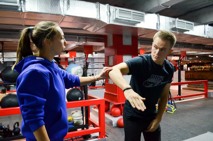 Victoria Mikhailova conducted TPI testing for multiple Russian Champion, Vladimir Osipov
